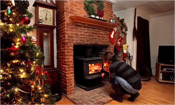 An energy-efficent wood-burning stove. Via NYT.