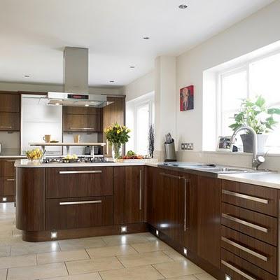 Charmant Walnut Kitchen Design Home Interior