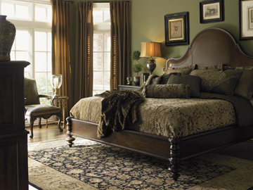 Cherry Bedroom Furniture Trend Emerges   Schutte Lumber Barclay Square Bedroom Collection by Lexington via lexington com. Cherry Bedroom Furniture. Home Design Ideas