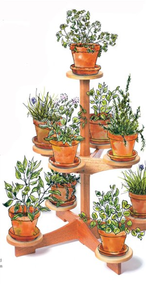 Download ladder plant stand plans plans free - Ladder plant stand plans free ...