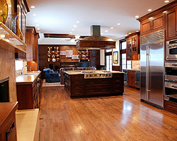 in a remodeled kitchen by Lifewise Renovations out of Kansas City, MO