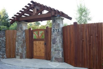 redwood-fence