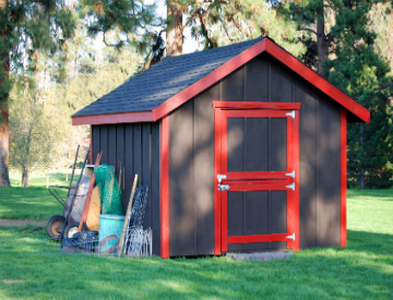 Let your inner handyman shine by finally building that back yard shed. ©iStockphoto.com/Eponaleah