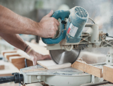 Make perfect dado joints, even if you don't have the right tools. ©iStockphoto.com/guruXOX